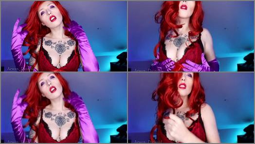 Arwen Datnoid starring in video Jessica Rabbit CEI JOI Anal Instructions preview