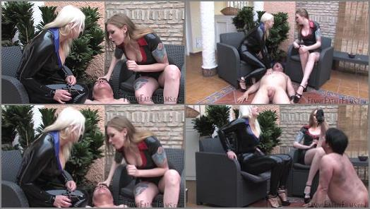 Divine Mistress Heather Domina Hades starring in video Slave Sustenance  Super HD of Femme Fatale Films studio preview