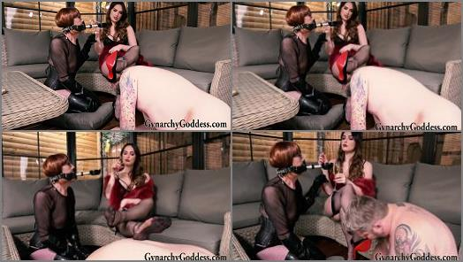 Goddess Gynarchy and Baroness Serena starring in video Amusing the Baroness preview