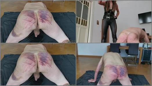 Classic Caning – Goddess Lena starring in video 'Whipping Without Limit'