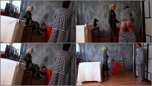 Classic Caning – Lady Jasmin starring in video 'Machine Interrogation'
