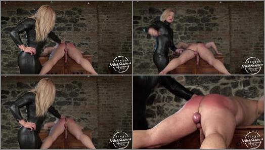 Madame Mysteria starring in video Spanking the bottom of Kinky Mistresses studio preview