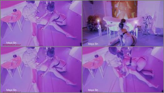 Bdsm –   Maya Sin starring in video 'Tease and denial in Femdom dreamland'