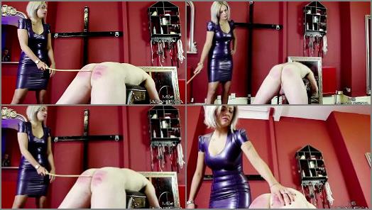 Miss Sarah Jessica starring in video The Striped Bottomed Slave preview