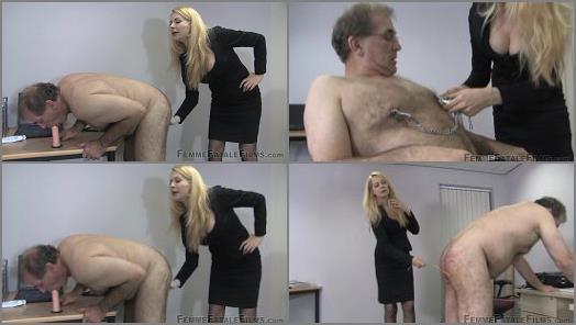 Mistress Eleise De Lacy 2021 – Mistress Eleise de Lacy starring in video 'Measuring Up – Super HD' of 'Femme Fatale Films' studio