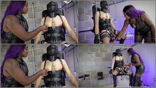 Mistress Lorraine starring in video Predicament Bondage Games  Part 3 of The English Mansion studio preview