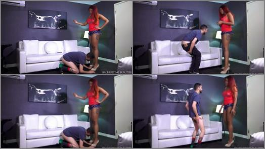 Humiliate – Ballbusting Beauties – Cheater Gets Busted 2 –  Sydney Cyntana