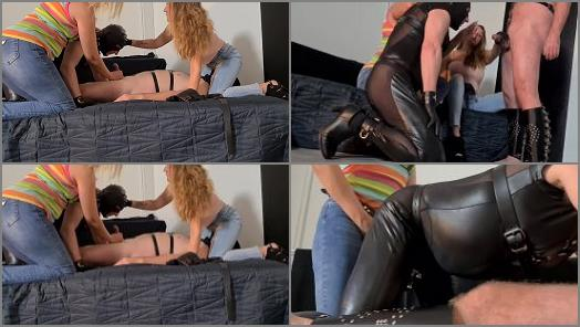 Enforced Bi – Danish Femdom – Biparty is On –  Miss Silvia and Miss Sofie