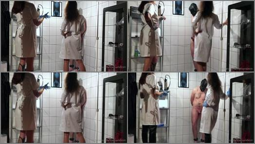 Miss Melisande Sin starring in video Testing his balls at the Sin Sisters lab preview