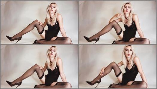 Louboutin – Mistress Euryale starring in video 'Cum cubes bitch'