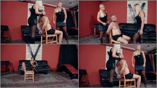 Domina Amazon - Mistress Zita starring in video 'Interrogation with two ladies' of 'CRUEL PUNISHMENTS – SEVERE FEMDOM' studio