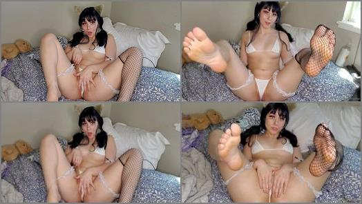 Nekonymphe - Neko Nymphe starring in video 'Neko plays with her kitten tease'