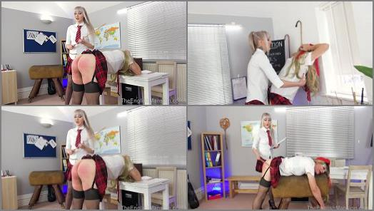 Princess Aurora starring in video Detention Discipline Pt2  Complete Movie of The English Mansion studio preview