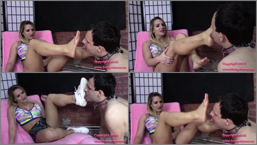 Foot play – Brat Princess 2 – Princess Cali – Cuck Licks Dirty Gym Sneakers and Sweaty Feet