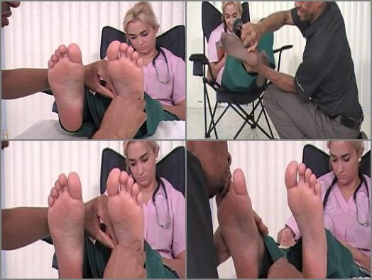Soles licking – Doctor Alexis – Angry Feet Tickled