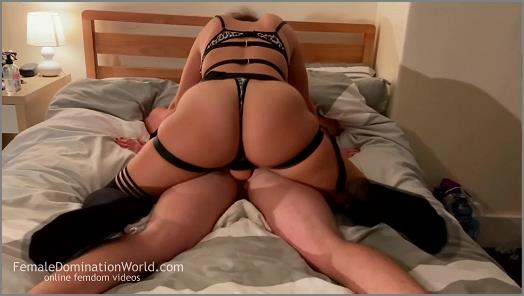 Dominant Girlfriend Pegging her Subs Ass on International Womens Day preview