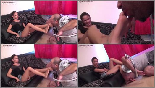 FOXY FOOT BRATS EVIKE Take A Shower  Foot Domination And Humiliation REMASTERED preview