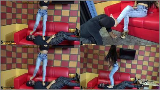 GIRLS FETISH BRAZIL Face Trample and Foot Domination By Bruna preview