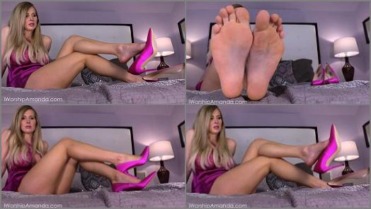 Goddess Amanda  Spend on My Flawless Feet preview