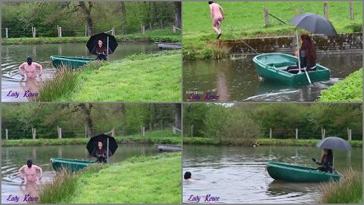 Ball Stretching – Mistress Lady Renee – The romantic boat ride