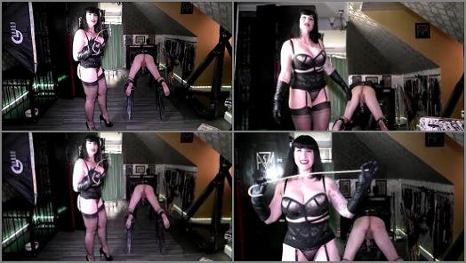 Slave Reward – Mistress Von Medisin 2020, Caning for punishment with Worship for reward part 1