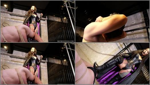 Mistress Youko starring in video The Villainess with a Black Cloak III preview