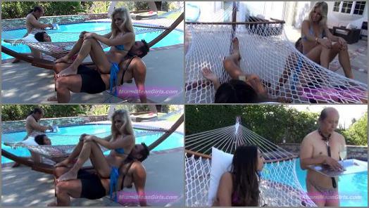 American Mean Girls  Human Hammock   Princess Cindi and Empress Jennifer preview