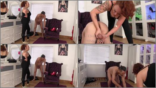 Ball Busting World  Dickhead Gets Ballbusted   Cruella preview