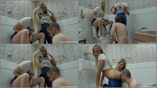 Masturbation – Brat Princess 2 – Amber and Ava – Extreme Beta Toilet Humiliation