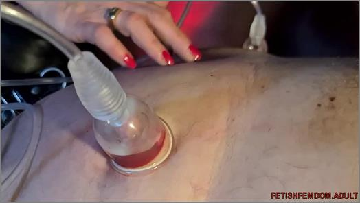 Online – Danish Femdom – Double Domme and Double Vacuum –  Mistress No.1 and Die Frau K