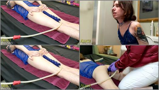 Enema Training – Goddex Alice Skary starring in video 'Pretty Nonbinary Model Gets Two Enemas'