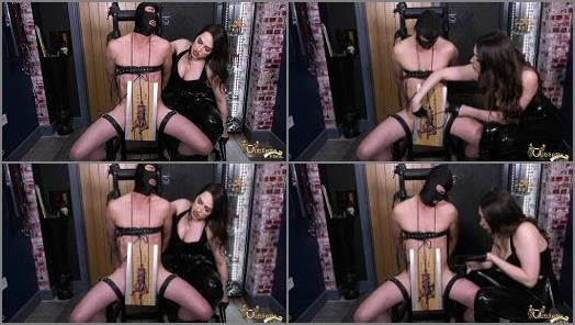 Gynarchy Goddess  Oubliette Films  Goddess Serena  Cum through the pain preview