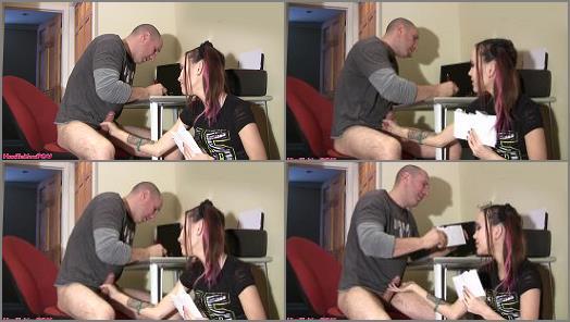 Female Domination – Humiliation POV – Bill Pay Tease And Denial Handjob – His Cock Controls His Brain –  Princess Amai
