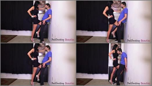 Kneebusting – Ball Busting Beauties – Step-Mom Knows Best –  Arome Roma