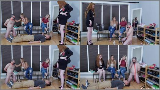 Foot Worship – Brat Princess 2 – Amber and Nika – I Want to Speak to Your Manager