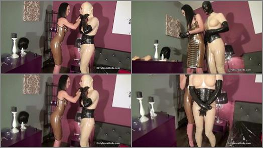 Rubber Doll Jenna – Dirty Trans Dolls – From boy to rubber toy – Part 2 –  Fetish Liza