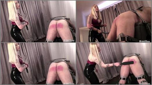 Online – Fetish Sinema – Mistress Anna Elite – SLAVE STRAPPING