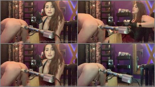 Ass – Gynarchy Goddess – Introducing my slave to the Fucking machine