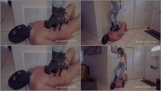 Trample – Men Are Slaves – You Deserve To Be Abused –  Princess Honey