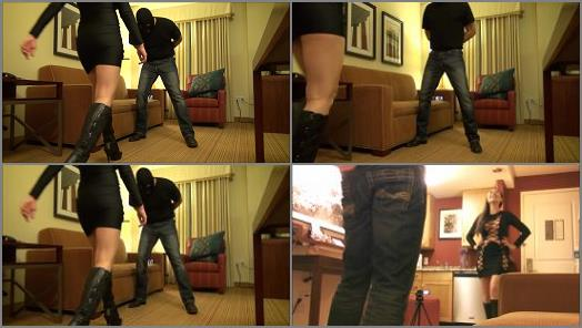 Female Domination – NYSSA NEVERS Always Naughty – THESE BOOTS WERE MADE FOR BUSTING