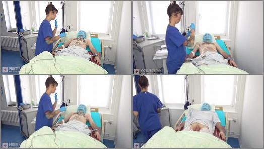 Female Domination – Private Patient – Cystoscopy – Part 3 –  Dr. Eve