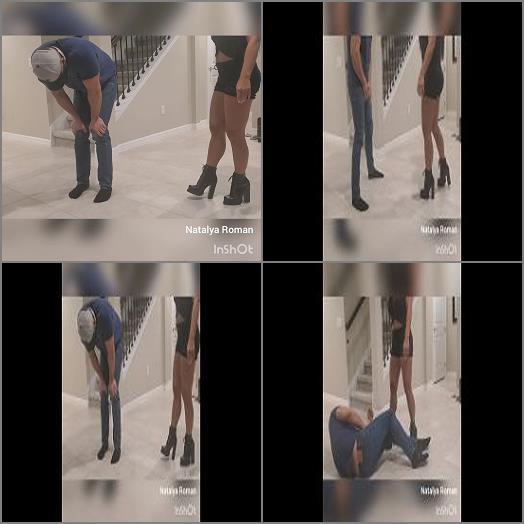 Groin Kick – Natalya Roman Ballbusting – A good time for kicks