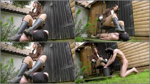 Boot Domination – Oubliette – Dirty Boot Licker –  Goddess Serena