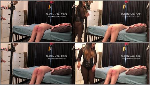 Corporal Bdsm – Queen Kali Rain – Whipped a solid 10 strokes