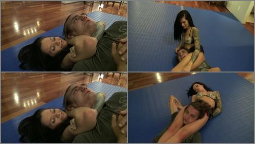 Wrestling – Reality Girls Scissors – Maria Marley Attacks Wimp