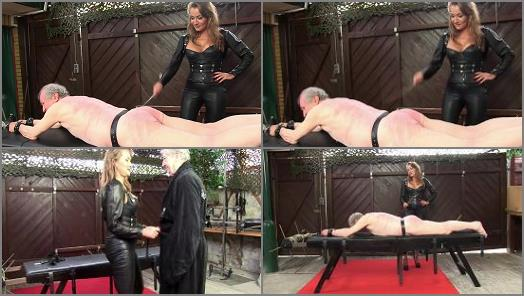 Strokes – SADO LADIES Femdom Clips – The Caning Massage –  Lady Pascal