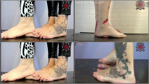 Foot Fetish – Anika and Friends Cock and Ball Trample – The Best of Goddess Gretchen