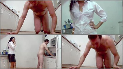 Online – Asian Mean Girls – A DIRTY KITCHEN IS JUST CAUSE FOR YOUR TRAMPLED AND BUSTED BALLS
