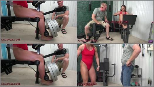 Flexing – Ballbustin' & Foot Lovin' – Ballbusting Science –  Sara Lips